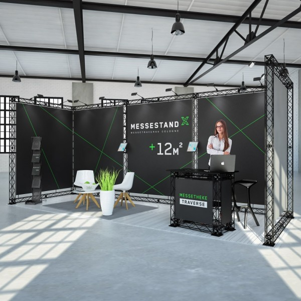 Messestand Traverse Cologne 12 m² - Reihenstand