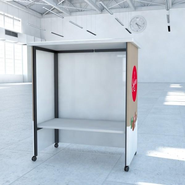 Ersatzzwischenboden für Messetheke EURO Line Counter Rechteck Big