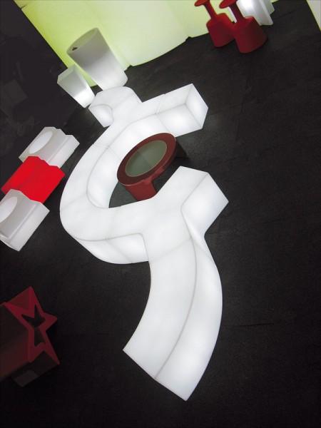 Messemöbel Sitzmöbel SLIDE Ypsilon