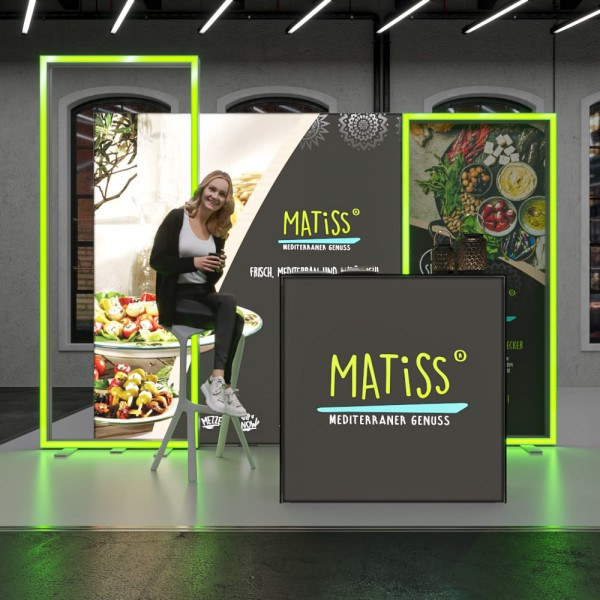 LED Messestand One - Set Mia