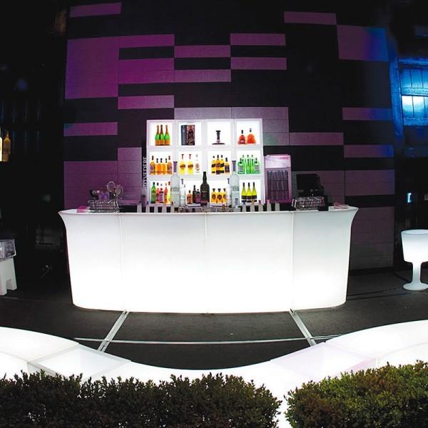 Leuchttheke Loungetheke SLIDE Jumbo Bar