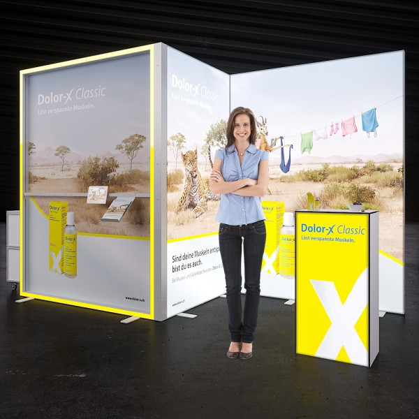 LED Messestand MOVE - Dortmund 4 x 2 m