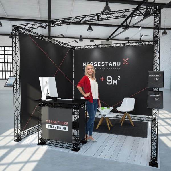 Messestand Traverse Cologne 9 m² - Reihenstand