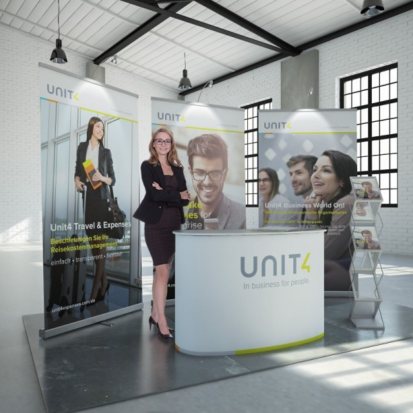 Messestand mobil Hannover 5m²