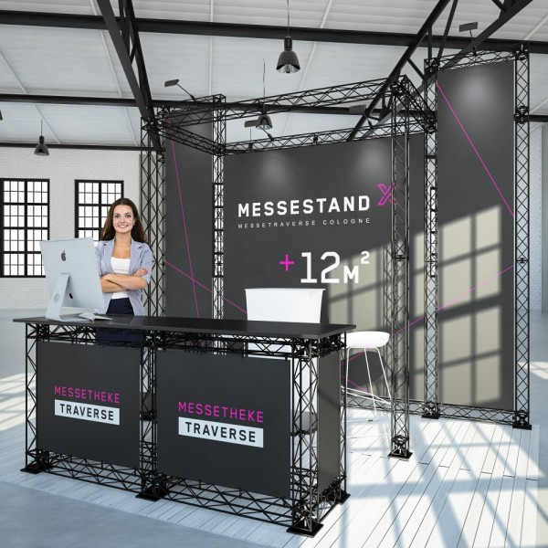 Messestand Traverse Cologne 12 m² - Kopfstand
