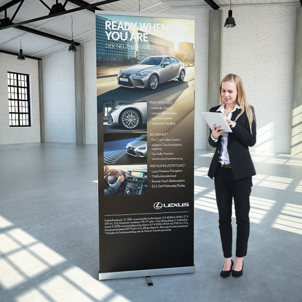 Roll-Up Display Easy