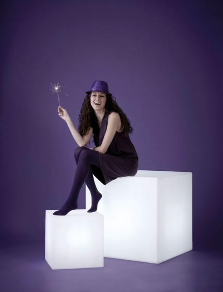 Leuchtwürfel Sitzwürfel SLIDE Cubo