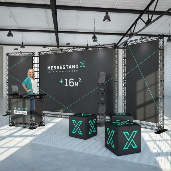 Traversen Messestand - Mainz 6 x 2 m