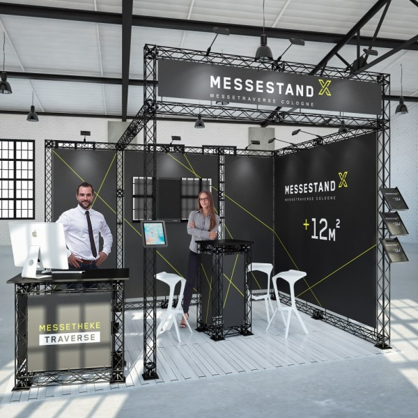 Traversen Messestand - Berlin 4 x 3 m