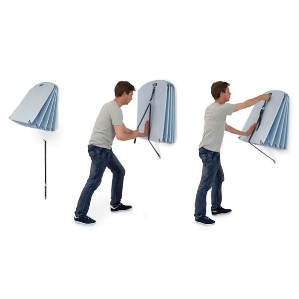 Wandhalterung für Fluxmöbel