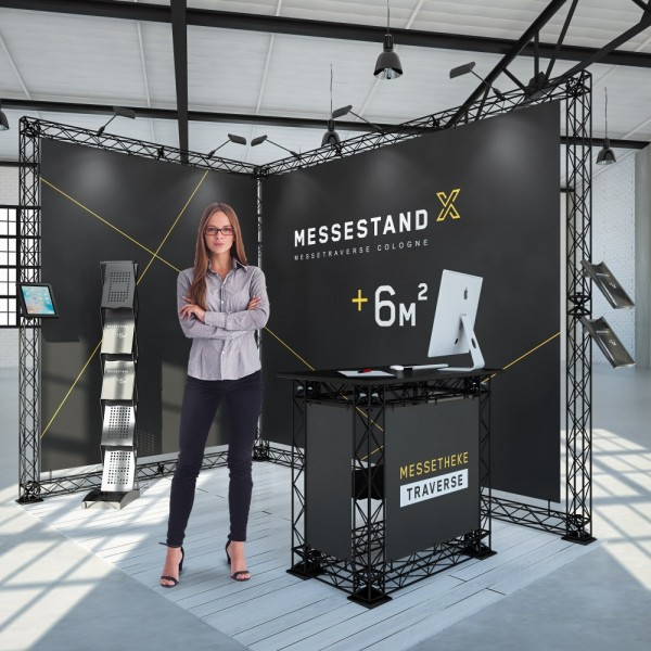 Messestand Traverse Cologne 6 m² - Eckstand