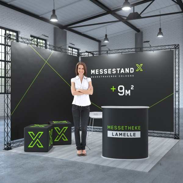 Traversen Messestand - Dresden 3 x 3 m