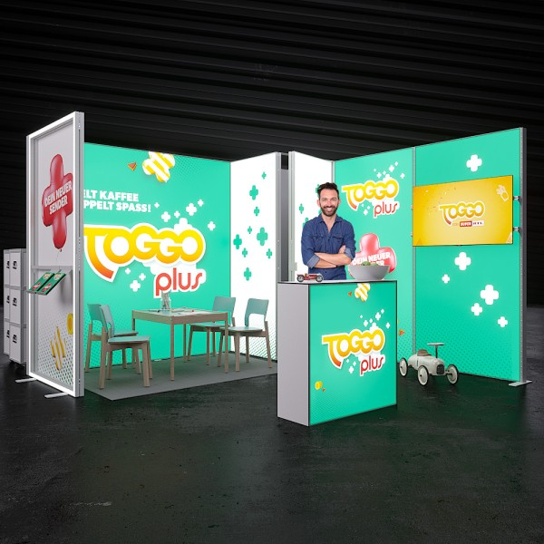 LED Messestand Quick 14