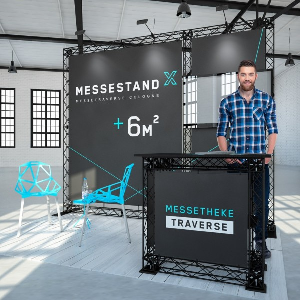 Traversen Messestand - Bonn 3 x 2 m