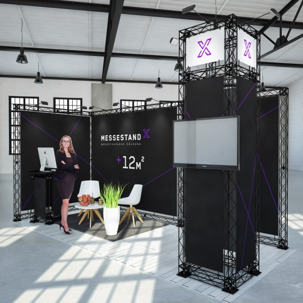 Messestand Traverse Cologne 12 m² - Eckstand