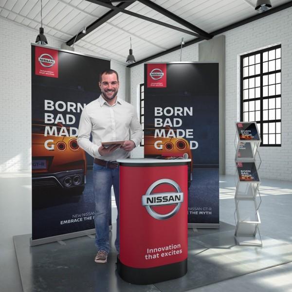 Promotionstand mobil Stuttgart 3m²