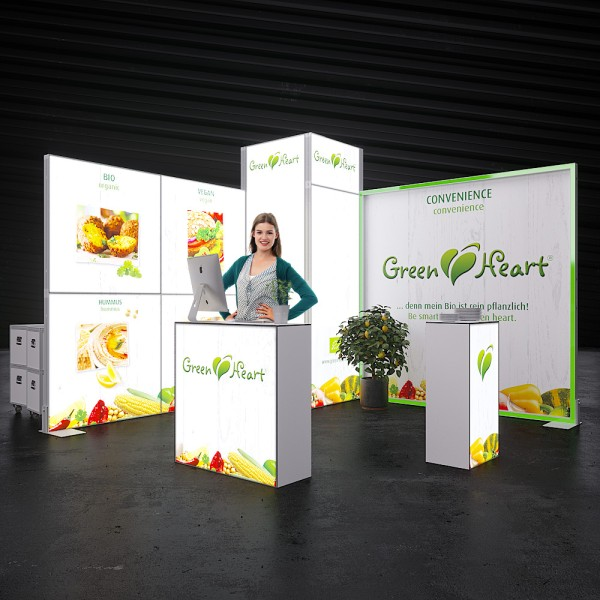 LED Messestand MOVE - Stuttgart 4 x 4 m