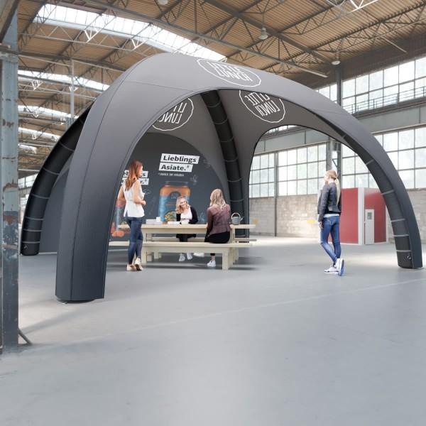 Aufblasbares Zelt BlowUp Airtent Premium 6x6