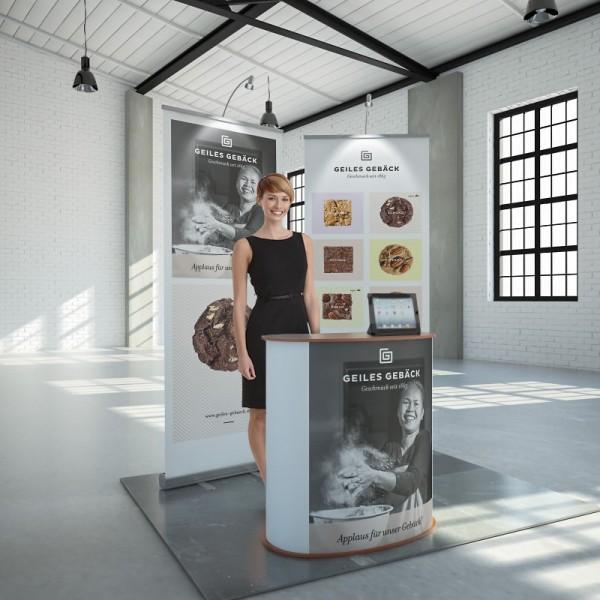 Promotionstand mobil Köln 4m²