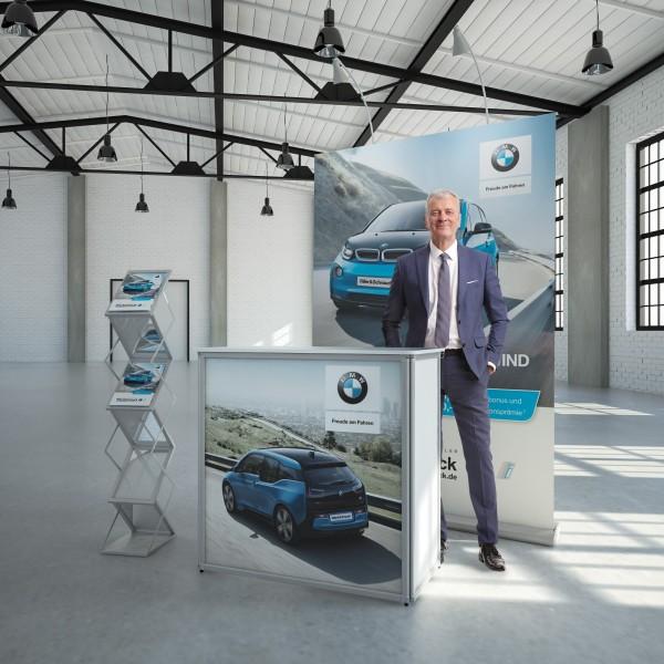 Messestand mobil Leipzig 3m²