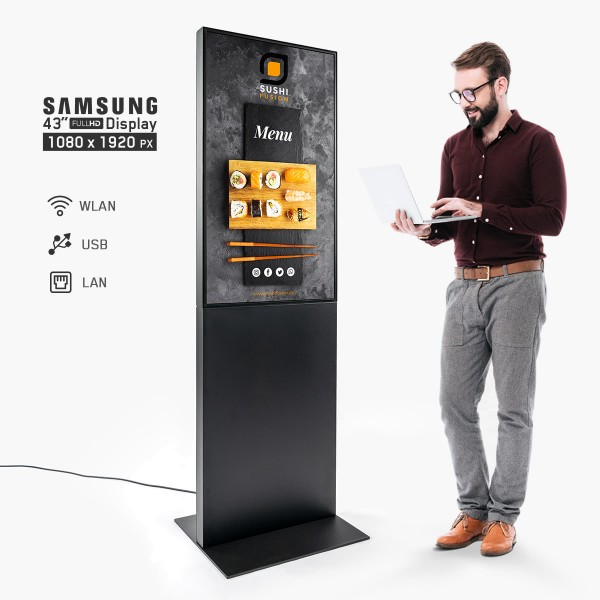 Digitaler Infokiosk - Digital Totem