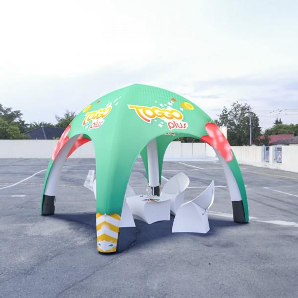 Aufblasbares Zelt BlowUp Airtent 3x3