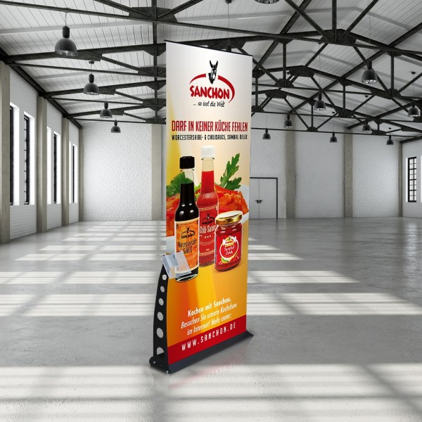RollUp Display Elegance A4 Prospekthalter